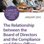 The Relationship between the Board of Directors and the Compliance and Ethics Officer [Survey]