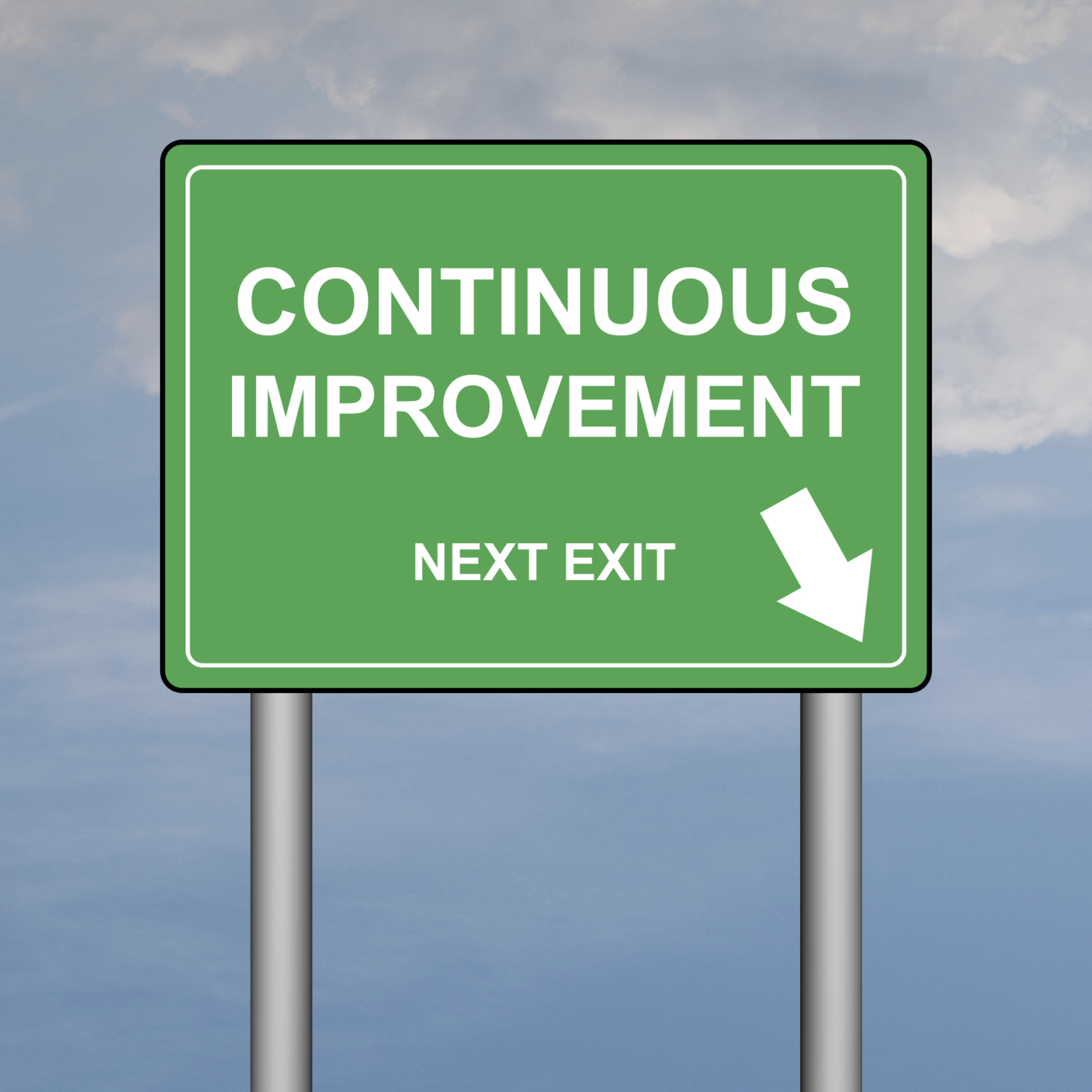continuous improvement Definition of continual improvement if improvement is defined as making a change that results in a better outcome, then continual improvement is simply always identifying and making changes that .