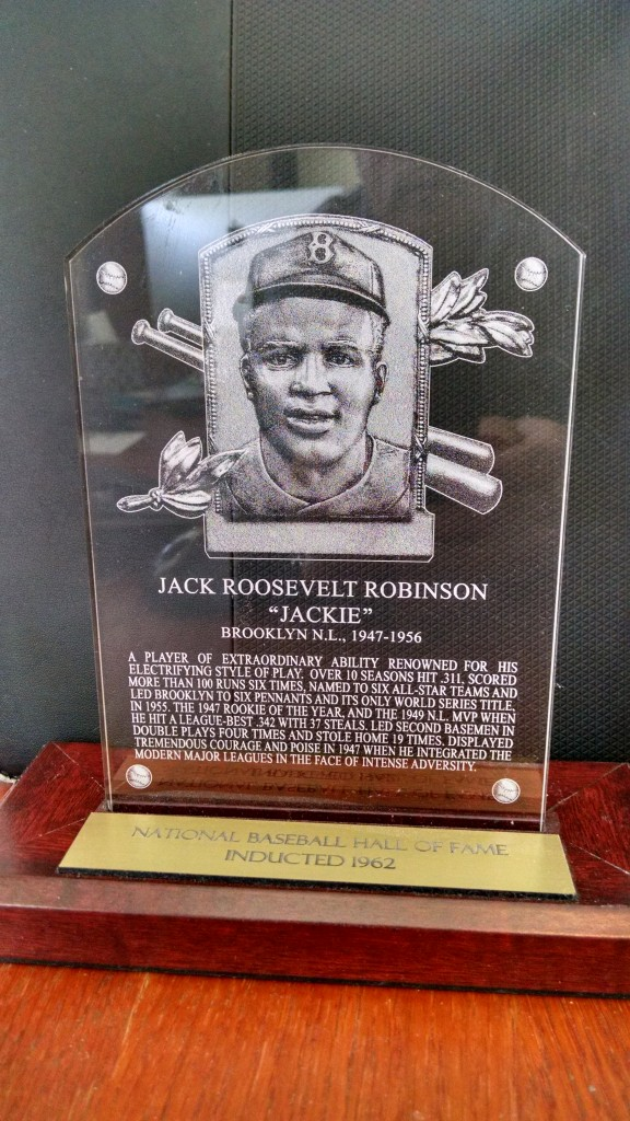 Jackie Robinson Plaque