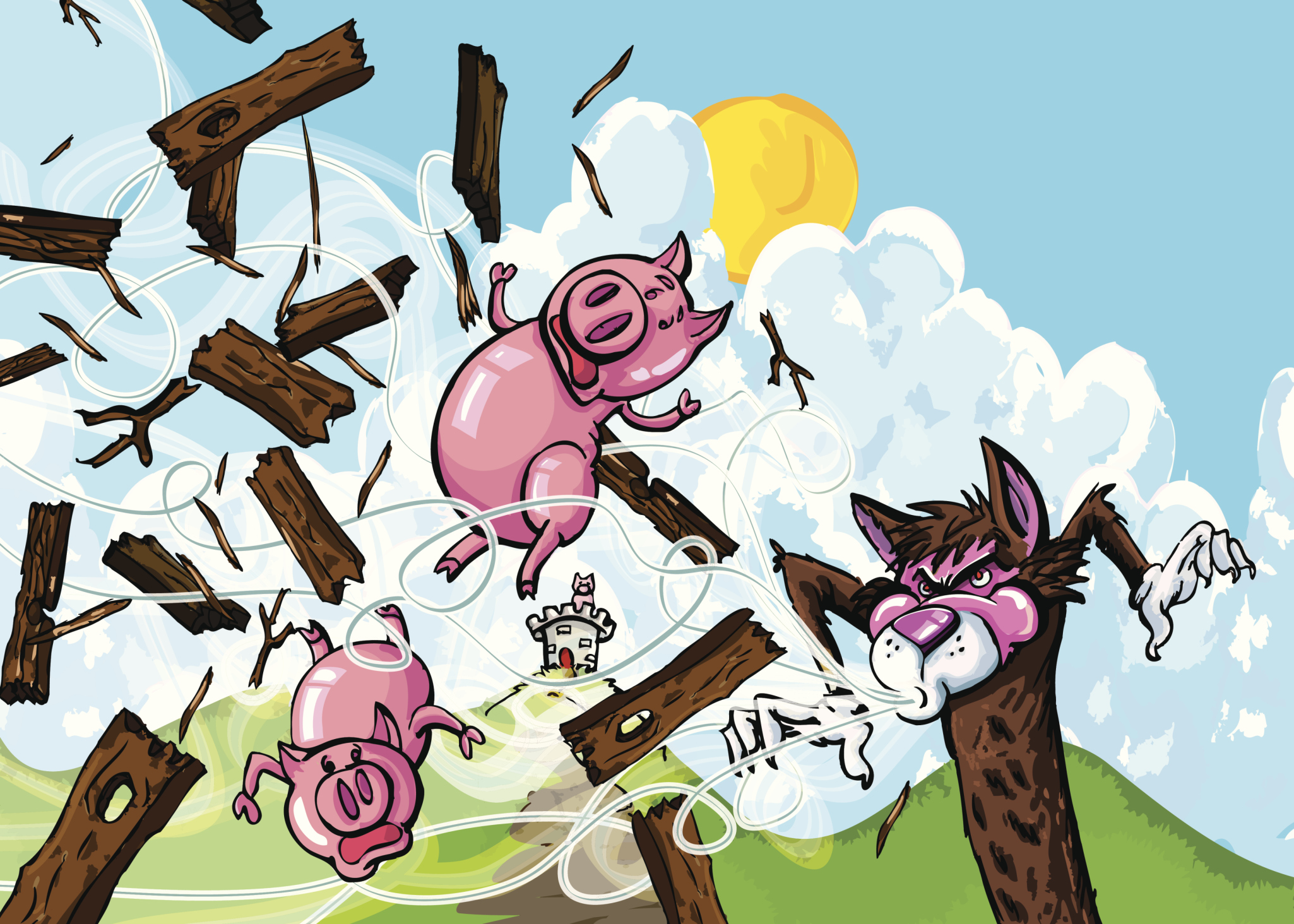 What The 3 Little Pigs Can Teach Us About Risk Assessments