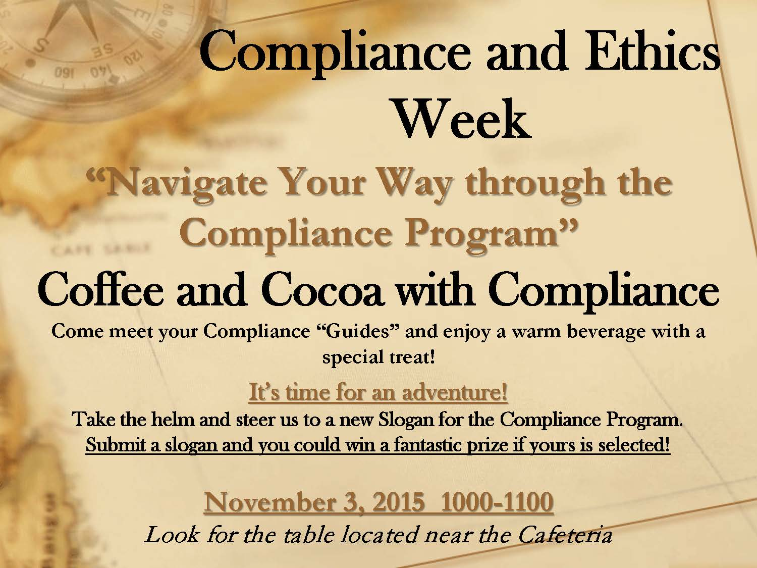 Celebrate corporate compliance ethics week - Ethics and compliance officer association ...