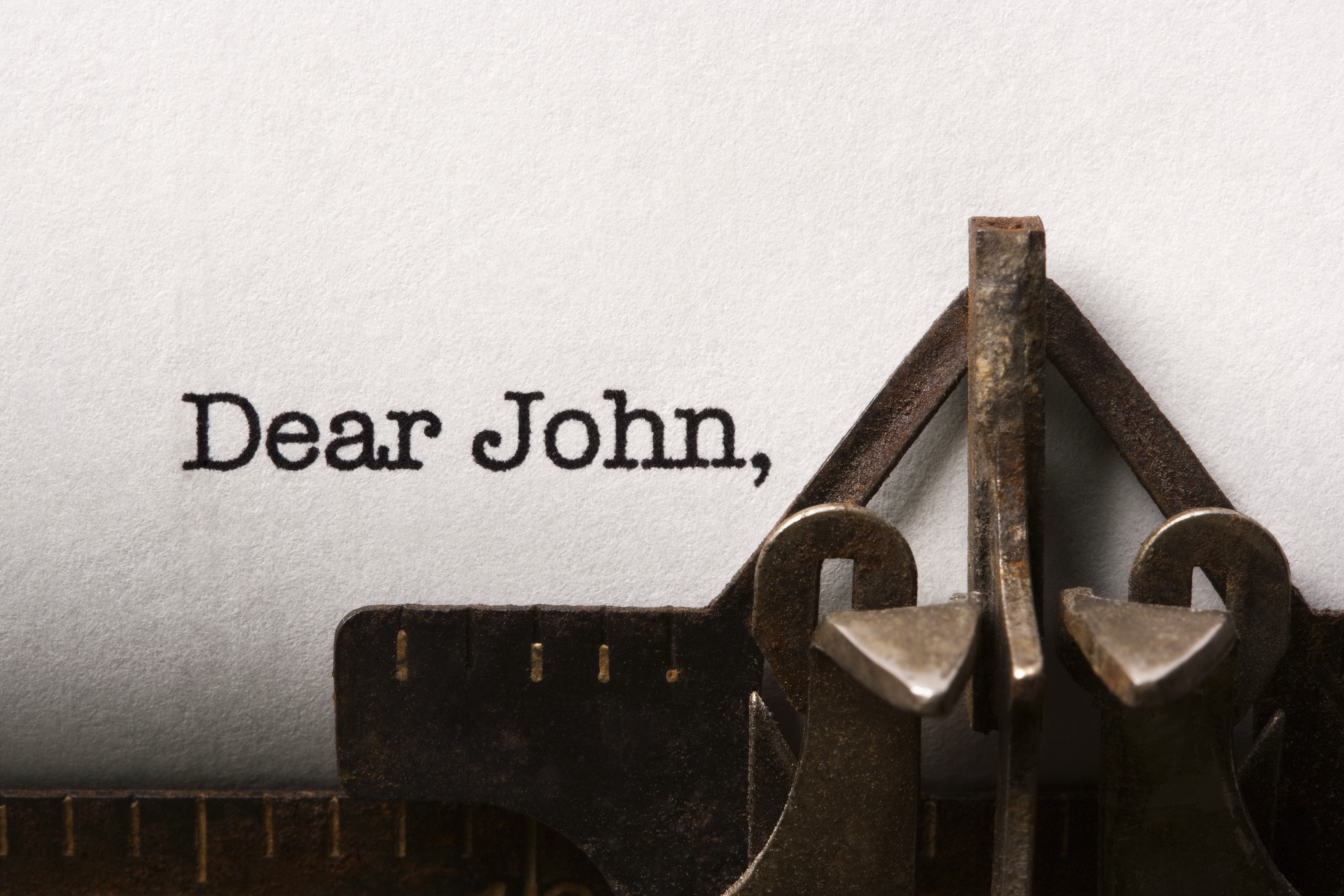 dear john letter Dear 2016, what these letters usually say is, it's not you, it's me, but that would   you forced us to bid goodbye to john glenn and glenn frey.