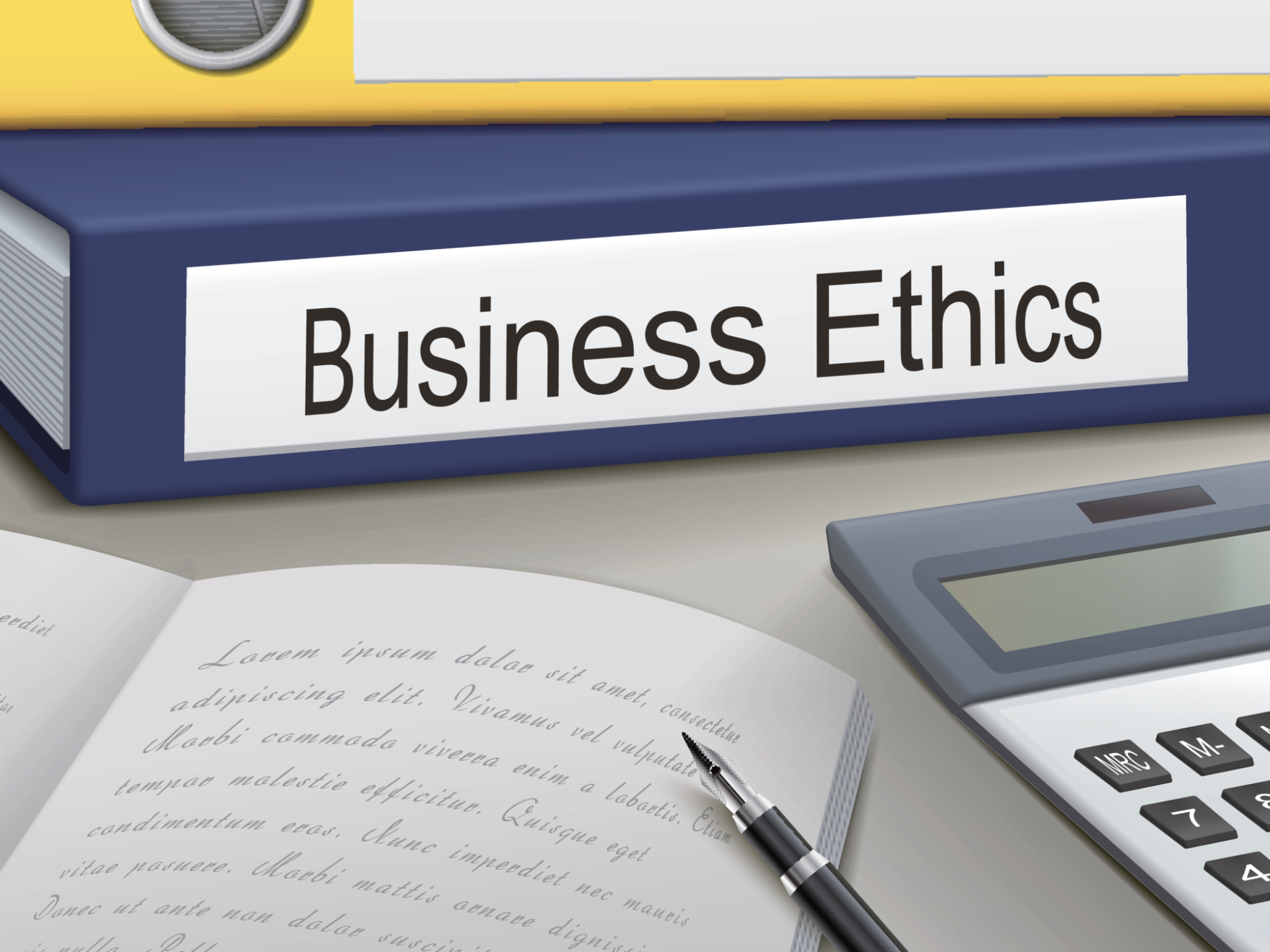 research project on business ethics and the workplace Arrange review and oversight by research ethics and  the human genome research project will yield knowledge about disease  76 research in the workplace.