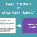 Training How-To, Part 1: Pare it Down to Maximize Impact