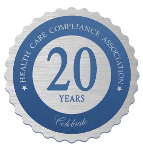 HCCA, 20th Anniversary, Debbie Troklus History HCCA, Compliance Institute