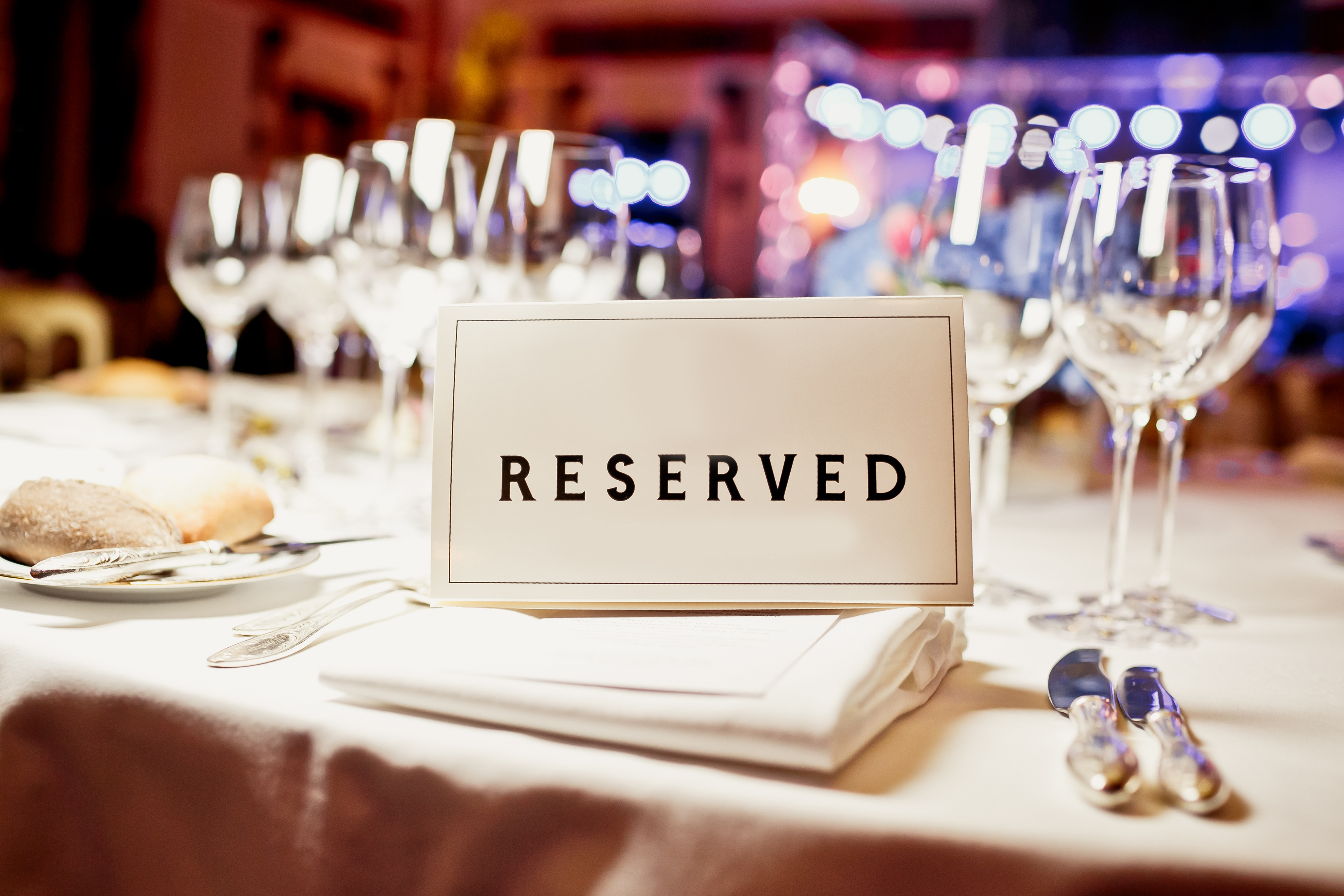Reserve A Room At A Restaurant