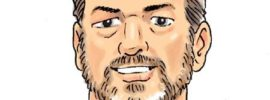 Roy caricature