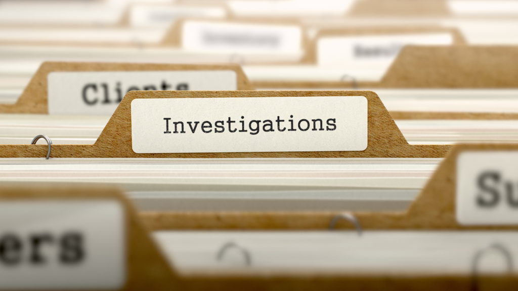 Carry Out An Anti-Bribery Investigation