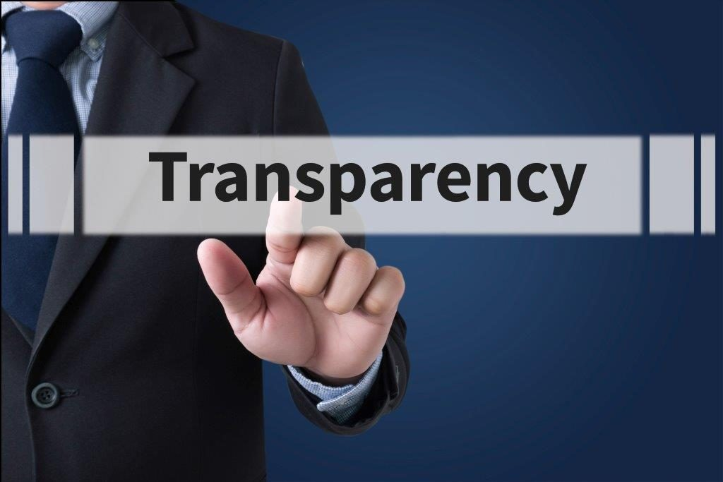 forced transparency