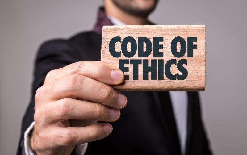 at t code of ethics Specifically, section iii-c of the code (ethical responsibilities to colleagues /  responsibilities to employees) was deleted, as these ideals and principles are.