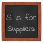 S is for Suppliers