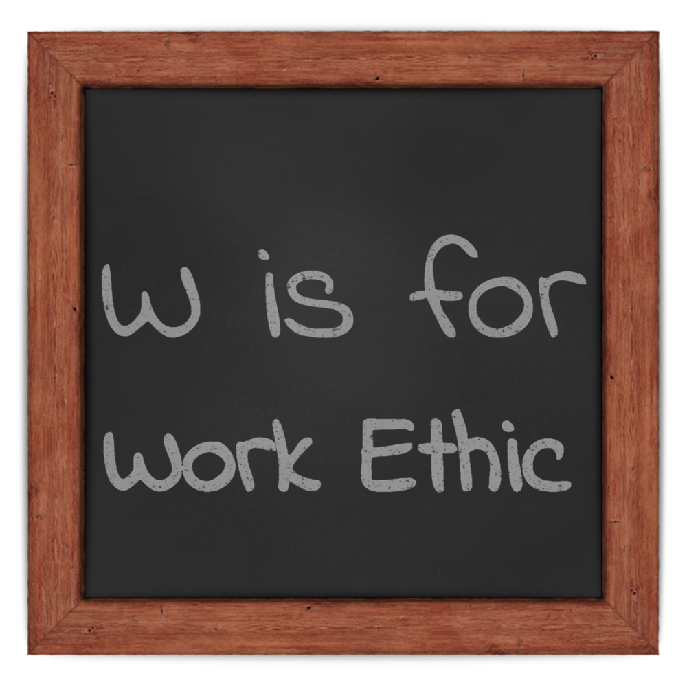 work ethic in a sentence